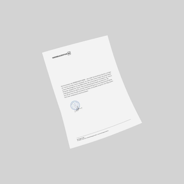 Geschäftsausstattung, Printdesign Nördlingen