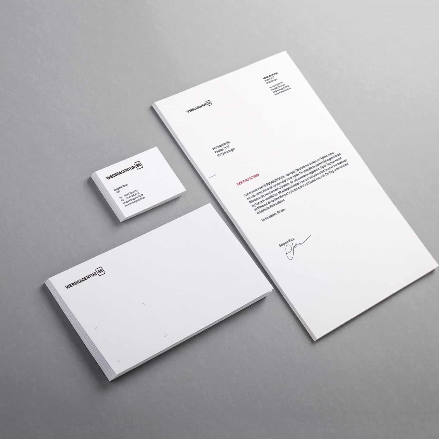 Corporate Design Werbeagentur 86 Die Werbeagentur In