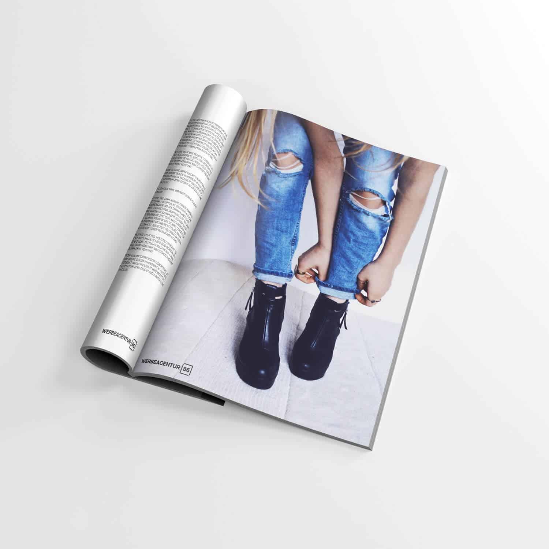 Katalog-Gestaltung, Magazin | Nördlingen